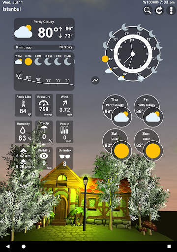 Animated 3D Weather 4.2.0 screenshots 9