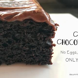 Crazy Chocolate Cake.
