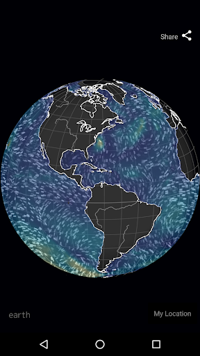 Wind Map ud83cudf2a Hurricane Tracker (3D Globe & Alerts) 2.2.9 Screenshots 15