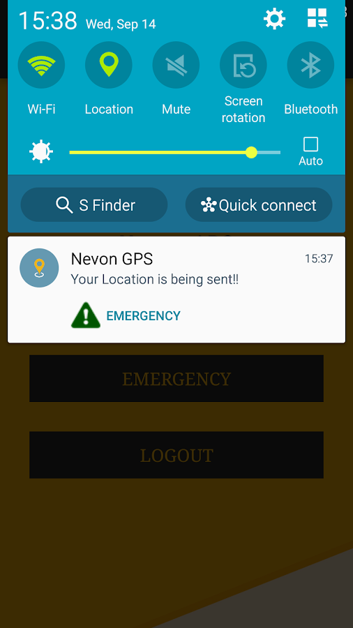 Nevon GPS Tracker- screenshot