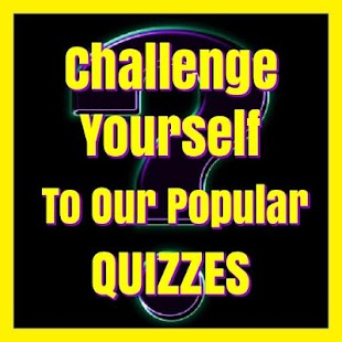 Try Our Popular Quizzes- screenshot thumbnail