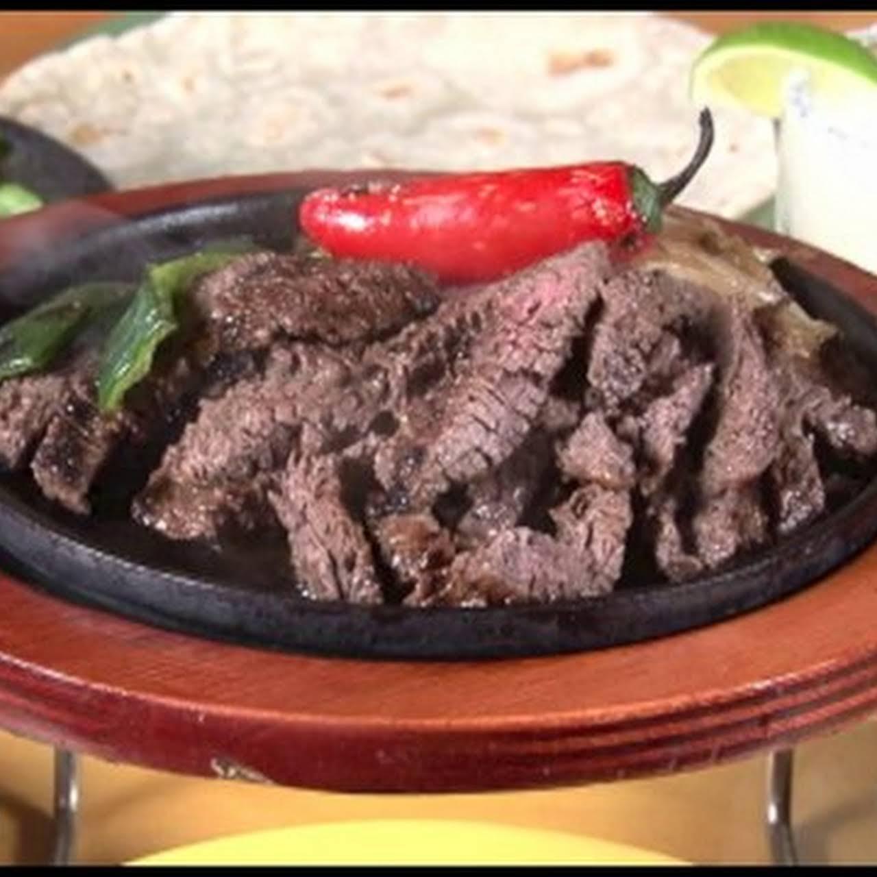 THE GREATEST BEEF FAJITAS RECIPE OF ALL TIME!