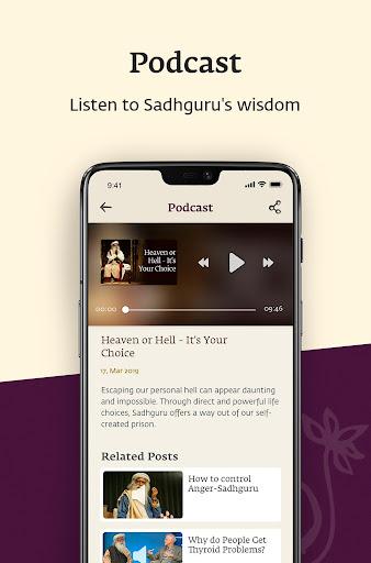 Sadhguru - Yoga, Meditation & Spirituality 5.0 screenshots 2
