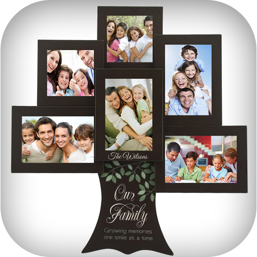 family photo frame screenshot - Multiple Photos In One Frame