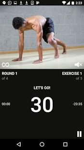 Full Control Bodyweight Fitness Training & Workout- screenshot thumbnail