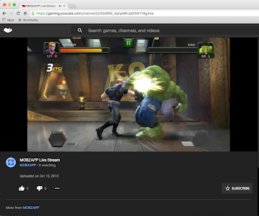Screen Stream Mirroring Screenshot