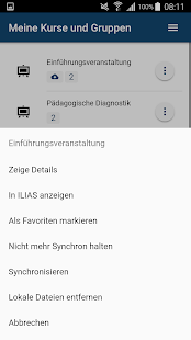 ILIAS Pegasus - mobile learning – Miniaturansicht des Screenshots