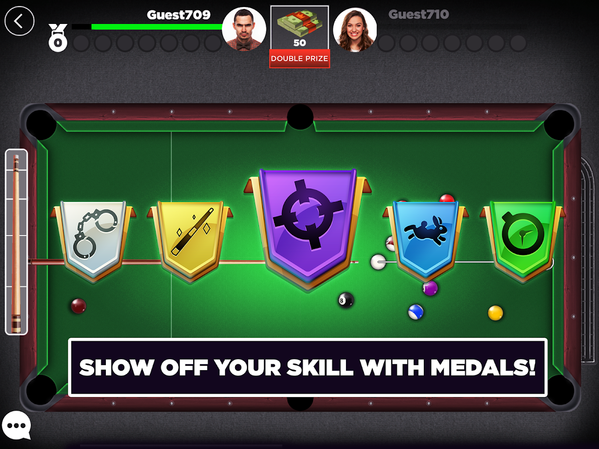 how to play 8 ball pool app on imessage