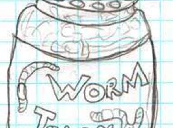 Creepy Halloween Worms Recipe