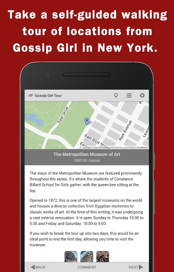 Gossip Girl Tour in New York- screenshot