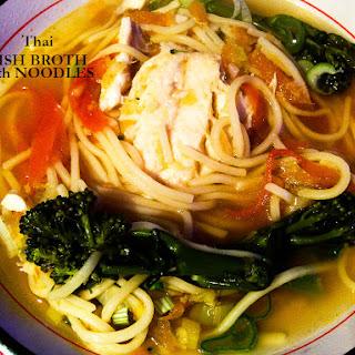 My Thai Fish Soup.