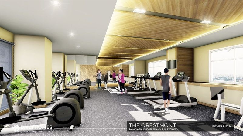 The Cresmont, Panay Avenue, Quezon City fitness gym