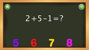 Screenshot of Kids Numbers and Math FREE