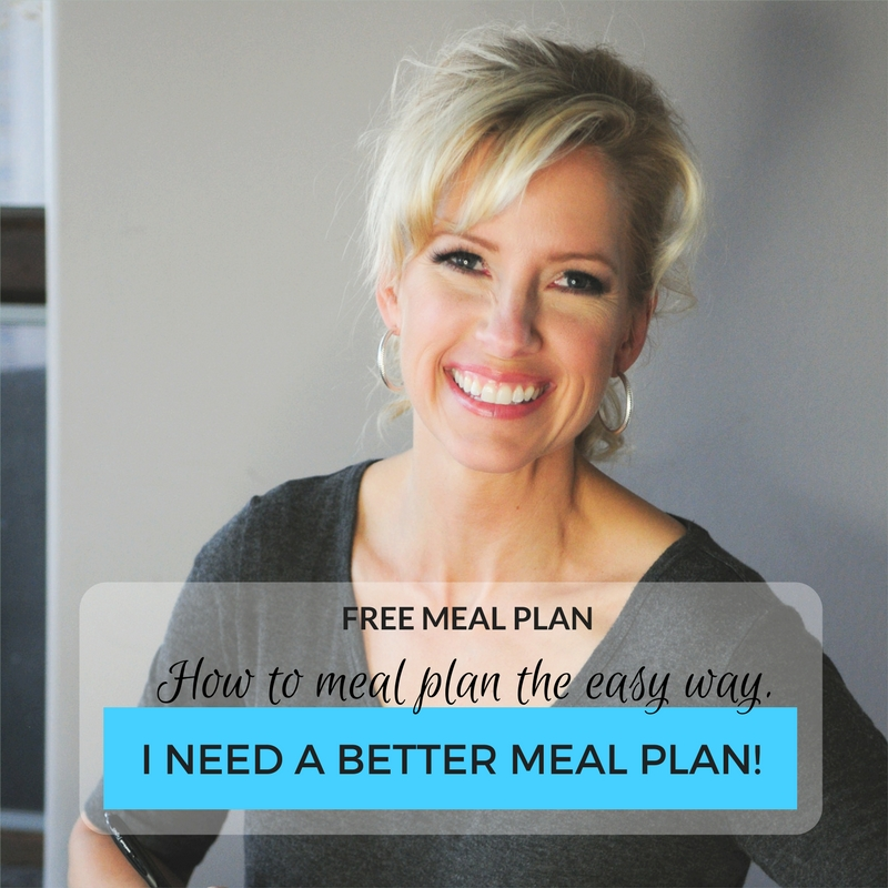 I Need A Better Meal Plan!