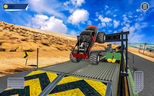 Extreme Monster Truck: Stunt Truck Game 1.0 screenshots 8