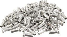 Sapim Alloy Polyax Nipples, 14g/12mm - Silver Bag/100 alternate image 0