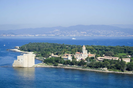 France-Cannes-Saint-Honorat-Island.jpg - Isle Saint Honorate Island is a short ferry ride from Cannes, France.