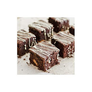 Chocolate Brownies With Chunky Milk Chocolate
