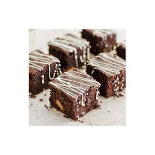 Chocolate Brownies With Chunky Milk Chocolate.