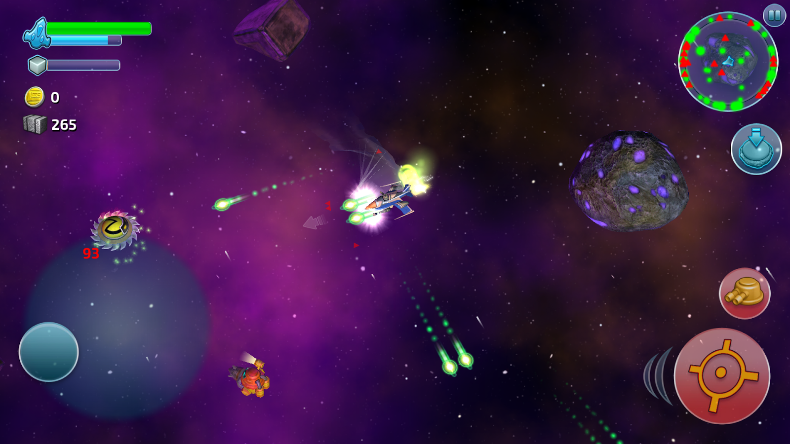 Space Miner Wars- screenshot