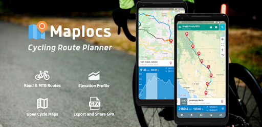 Maplocs Cycling Route Planner Apps On Google Play