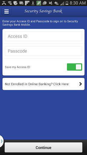 Security Savings Bank Mobile