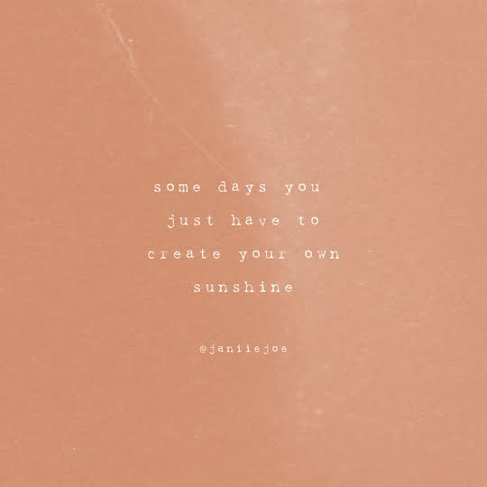 Create Your Own Sunshine - Instagram Post Template