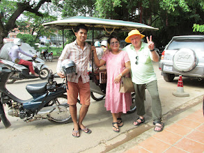 Photo: Tuk-Tuk driver who took us around Angkor Wat temples