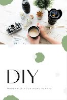 DIY Home Plants - Pinterest Pin item