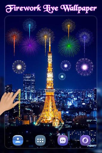 New Year Fireworks Live Wallpaper 2019 1.1 screenshots 2