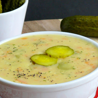 Dill Pickle Soup.