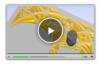3D гравирование с использованием стилей обработки