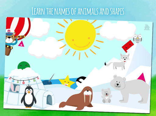 Animals first words, game for toddlers from 1 year androidhappy screenshots 2