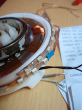 Photo: More tweaks to go. Added another LED strip on the 'outer ring'.