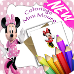 Coloriage enfants Mini Mouse 2018 Icon