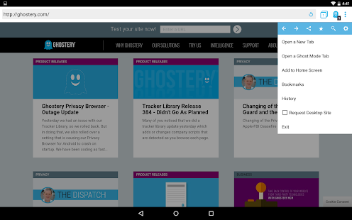 Ghostery Privacy Browser Screenshot 11