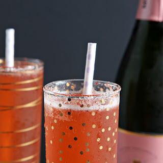 Easter Strawberry Champagne.