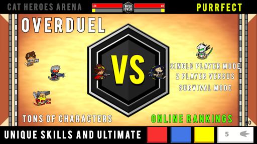 OVERDUEL : Cat Heroes Arena - Watch Over Duel game  screenshots 4