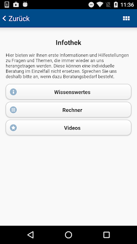android Landwehr Steuerberater Screenshot 2
