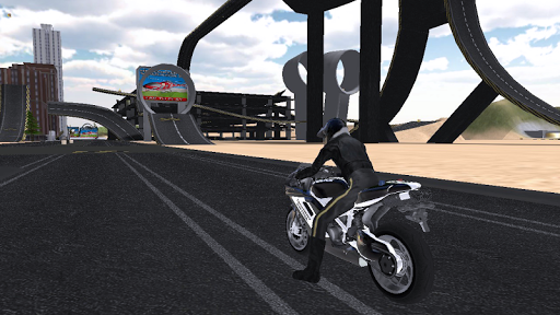 Police Bike Traffic Rider