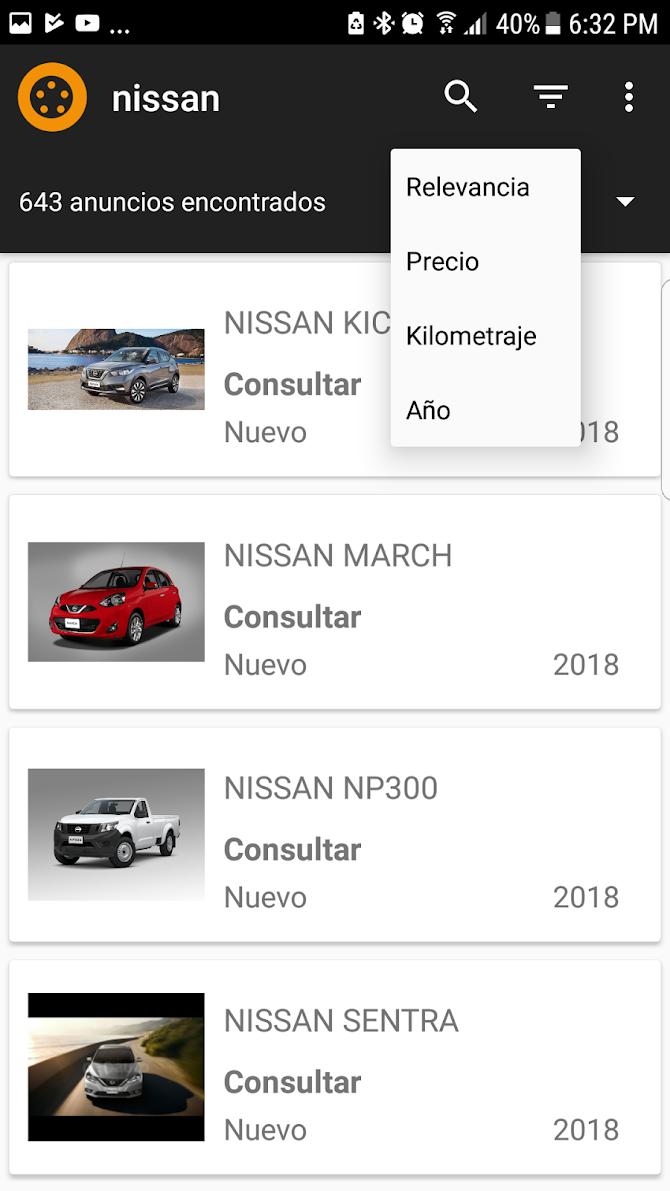 Neoauto Lite - Venta de autos Android 2