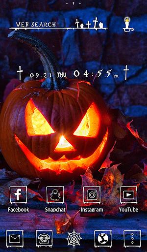 Halloween Wallpaper Pumpkin Candle Theme for PC