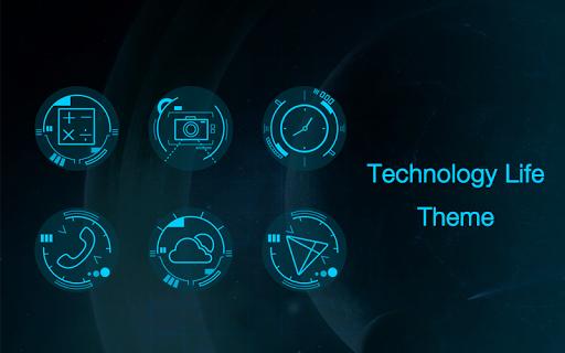 科技生活主题-Solo桌面