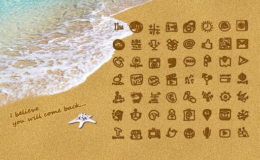 Sand Beach Theme