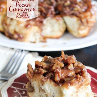Creamy Caramel Pecan Cinnamon Rolls