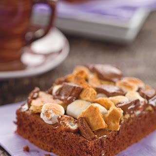 Simple S'Mores Cake Recipe