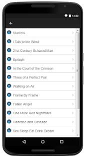 King Crimson Lyrics Music - náhled