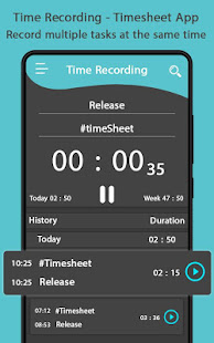 Time Tracker - Time Recording - Apps en Google Play