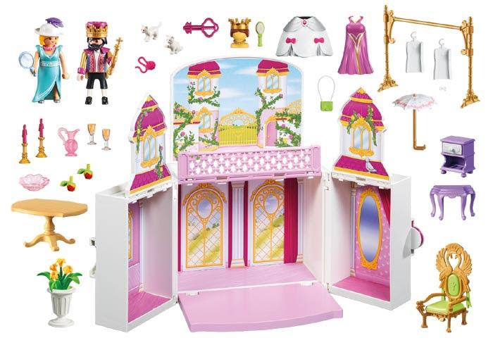Contenido real de Playmobil® 4898 Cofre Palacio Real