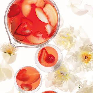 Peach-Berry Sangria.